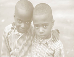Picture of two young boys